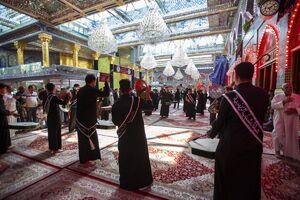 عکس/ سالروز شهادت امام باقر(ع) در کربلا