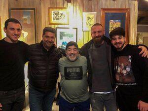 عکس/ دروسی به ملاقات مارادونا رفت