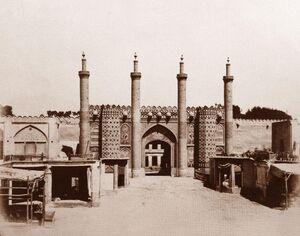 عکس/ دروازه ارگ سلطنتی تهران