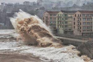 طوفان مرگبار «لکیما» در چین