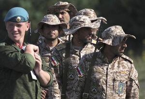 عکس/ مسابقه تک تیراندازی ارتشهای جهان