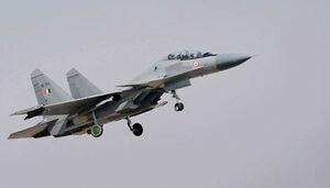 یک جنگنده نیروی هوایی هند سقوط کرد