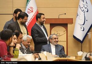 حاشیههای نشست صمیمی سخنگوی شورای نگهبان +عکس