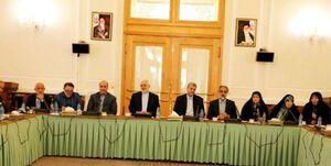 ظریف در نشست رئیس و اعضای فراکسیون دیپلماسی و منافع ملی مجلس
