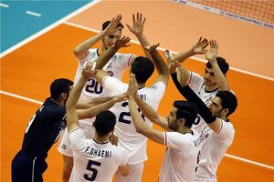 والیبال ایران و مکزیک