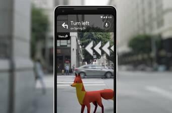 اضافه شدن واقعیت افزوده به نقشه گوگل +تصویر