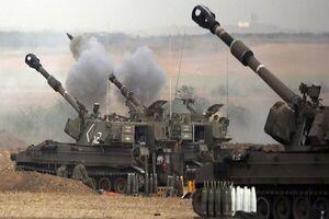 حمله توپخانهای رژیم صهیونیستی به نوارغزه