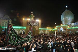 عکس/ آخرین شب مراسم مسلمیه در حرم حضرت عبدالعظیم
