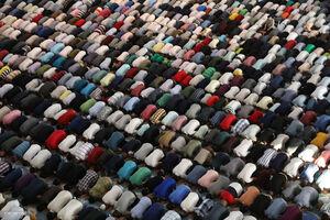 عکس/ اقامه نماز عید قربان در سراسر جهان
