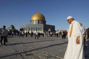 """فیلم/ اخراج """"اماراتیهای خائن"""" از مسجد الاقصی"""