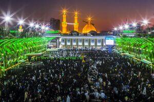 اقامه نماز عید قربان در کربلا