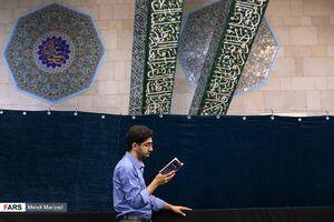 عکس/ آئین «دعای عرفه» در دانشگاه تهران