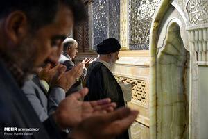 عکس/ نماز عید سعید قربان در حرم مطهر رضوی