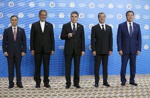 عکس/ نخستین مجمع اقتصادی خزر در ترکمنستان