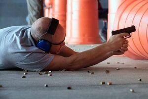 تمرین تیراندازی معلمان آمریکایی