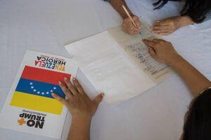 عکس/ واکنش مردم ونزوئلا به تحریمهای آمریکا