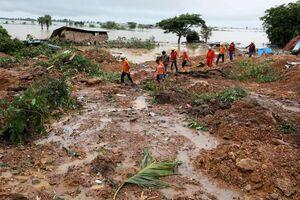 رانش زمین در میانمار