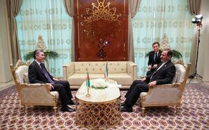 جهانگیری و رئیس جمهور ترکمنستان