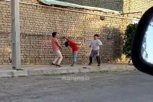 فیلم/ بازی والیبال کودکان ایرانی جهانی شد