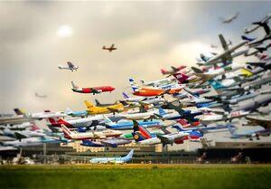 گرانی ۸۰۰ هزار تومانی و بی سروصدای بلیت هواپیما +جدول