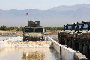 """عکس/ خودرو ضدمین""""رعد""""، جدیدترین شاهکار مهندسان نظامی ایران"""