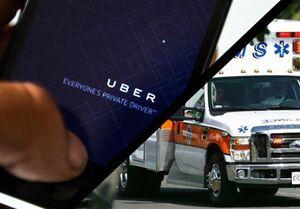 استفاده از تاکسی به جای آمبولانس در آمریکا