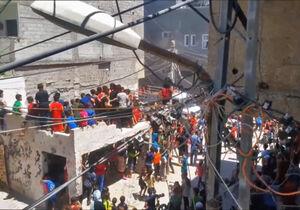 فیلم/ حادثه وحشتناک برای کودکان فلسطینی