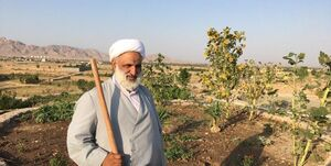 امام جمعهای که سرِ زمین کشاورزیاش بیل میزند/ راز محبوبیت حاج آقا عصمتی در تربت حیدریه