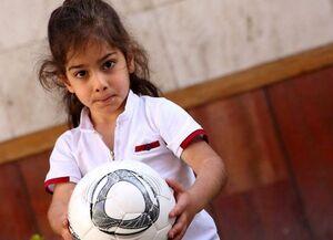 هدیه ویژه لالیگا به کودک نابغه ایرانی +عکس و فیلم