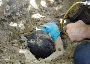 مرگ کودک زیر خاکهای کامیون