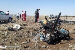 سقوط هواپیمای فوقسبک در« ایوانکی »