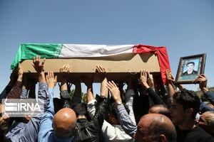تشییع پیکر شهید بسیجی در قروه