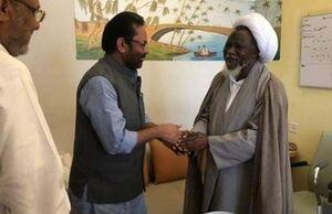 ملاقات وزیر امور اقلیتهای هند با شیخ زکزاکی +عکس