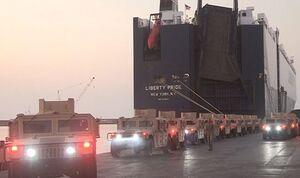 آمریکا دهها جیپ زرهی برای ارتش لبنان فرستاد