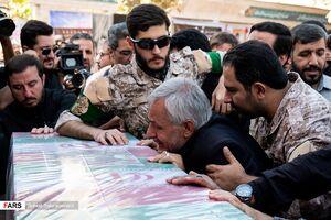 """عکس/ تشییع پیکر خلبان  شهید""""مجید فتحی نژاد"""""""