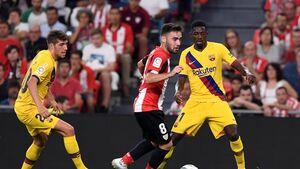بارسلونا در اولین بازی فصل لالیگا شکست خورد