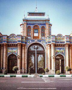 عکس/ یکی از نمادهای زیبای شهر تهران