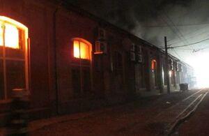 آتش سوزی مرگبار در یک هتل