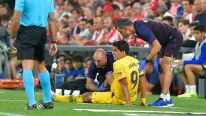 مدت دوری مهاجم بارسلونا از میادین مشخص شد