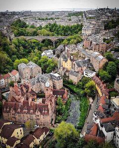 عکس/ نمایی زیبا از پایتخت اسکاتلند