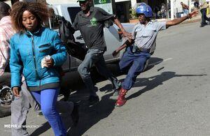 عکس/ اعتراضات ضددولتی در زیمبابوه