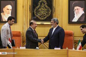دیدار وزرای کشور عراق و ایران