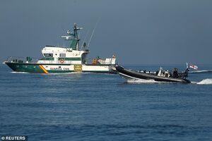 عملیات تغییر نام نفتکش ایرانی «گریس١»