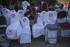 تصاویر جدید از انفجار انتحاری در مراسم عروسی