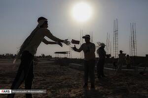 ساخت واحد مسکونی توسط گروه جهادی