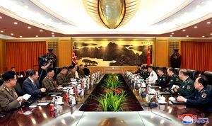 دیدار فرماندههان نظامی کره شمالی و چین