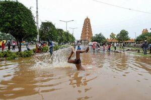 تصاویر جدید از خسارت سیل در هند