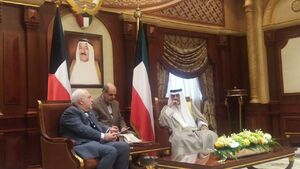 ظریف در دیدار با ولیعهد کویت