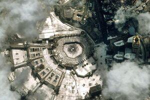 تصویر ماهوارهای از مکه