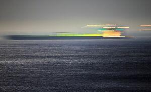عکس/ حرکت گریس۱ به سوی آبهای بینالمللی